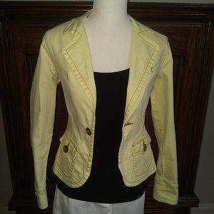 Z Cavaricci Jeans Yellow Denim Jacket